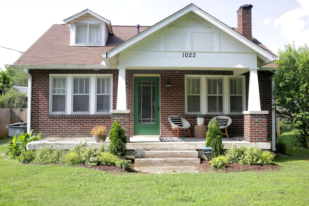 Welcome home! Enjoy your stay in our classic Craftsman Bungalow.