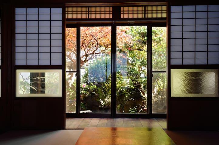 Traditional tatami Japanese style