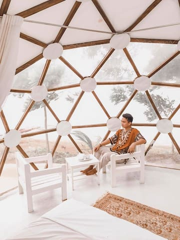 Glamping Etc! Dome Mufli King Private Island