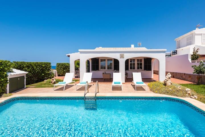 NeW!!! ☀☀ Villa Miquel , First Line of the Sea ☀☀