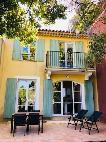 Maison 2 ch Golfe Saint-Tropez, piscines activités