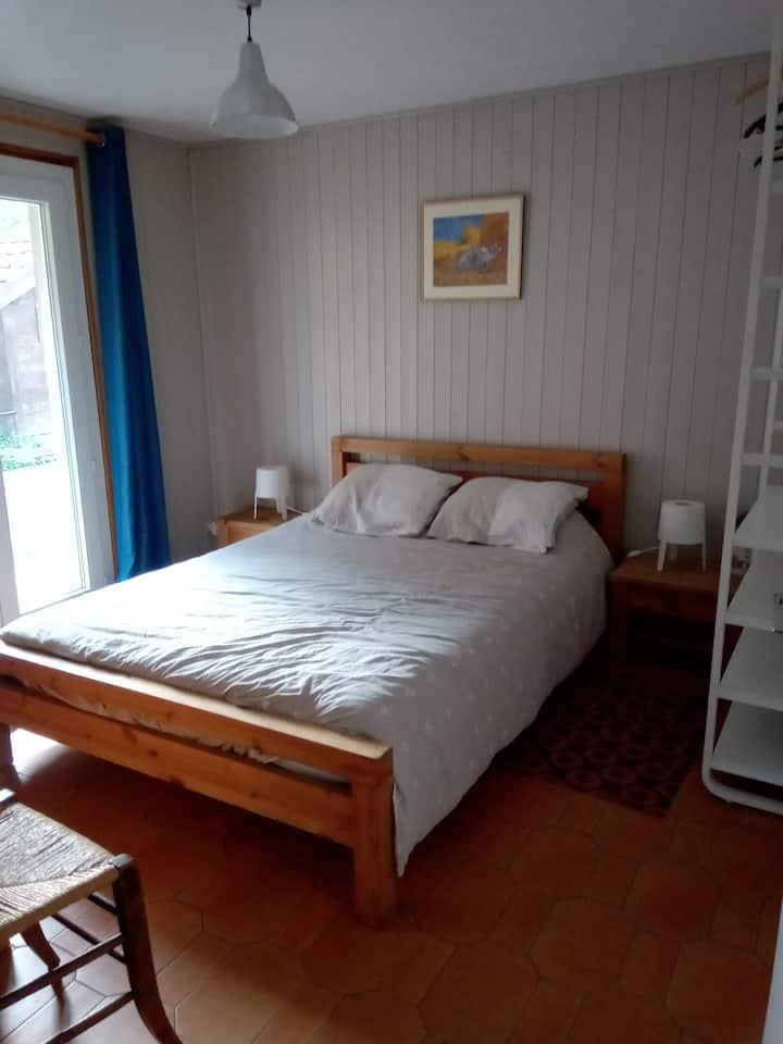 Chambre privée dans maison au pays du Mont Blanc
