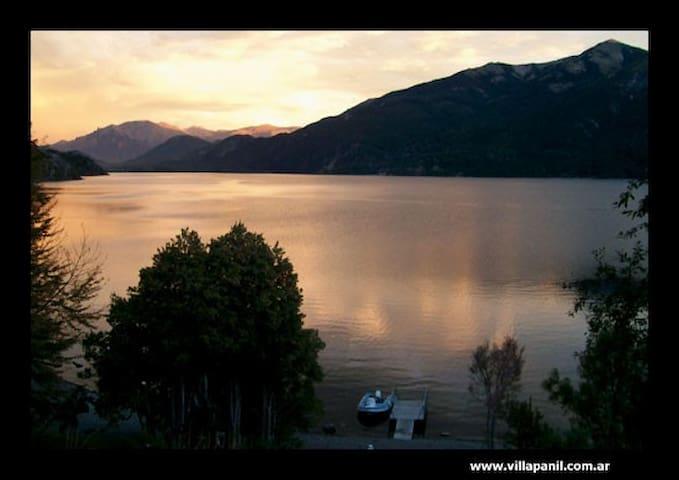 Cabaña en el bosque con excelente vista - San Carlos de Bariloche - Rumah tumpangan alam semula jadi