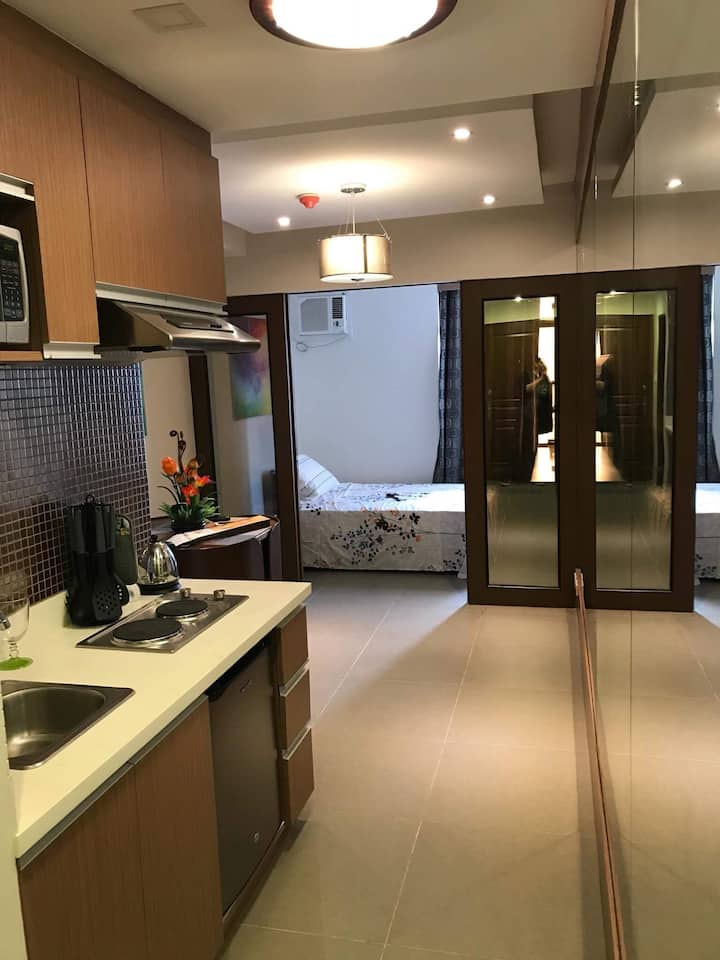 Quezon City: Chic Studio Type Condo - PORTOVITA