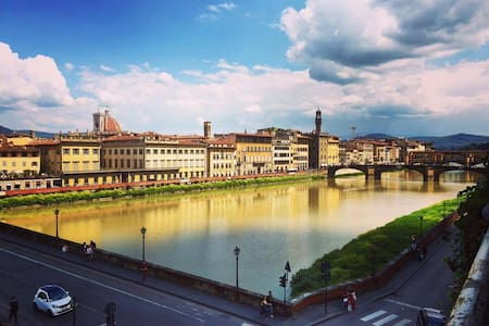 Valia Florence: SkyBlue Room With a View - Firenze - Apartment