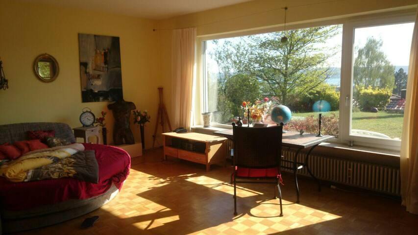 DoppelZimmer zum Ausruhen und Erholen - Überlingen - Huis