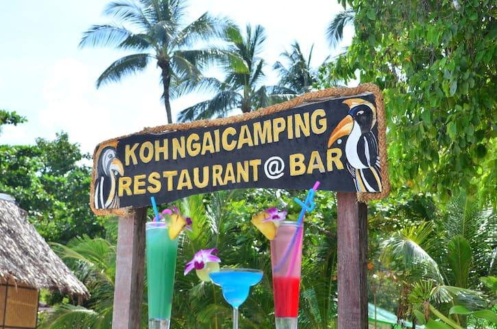 Koh Ngai Camping Bar & Restaurant - Ko Lanta Yai - Zelt