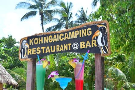 Koh Ngai Camping Bar & Restaurant - Ko Lanta Yai - Telt