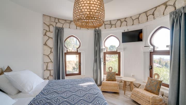 Mijas pueblo appartement met een Uitzicht APT4