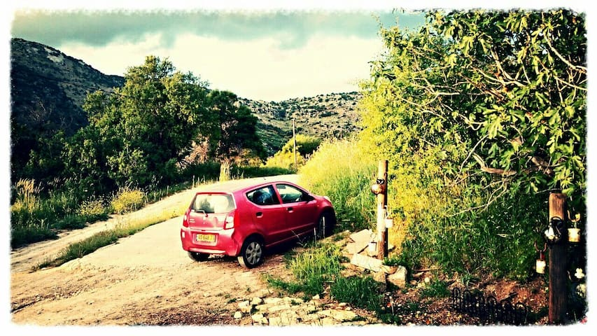 Amazing place in the mountain - נווה אטיב neve ativ - Ev