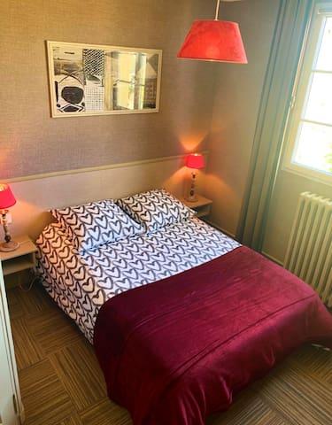 Chambre idéale pause entre Paris et la Bretagne