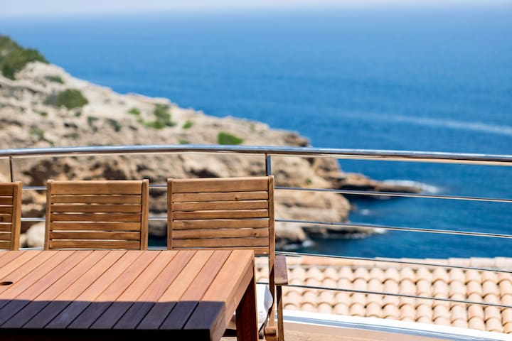 Breathtaking sea views in Cap de la Nau