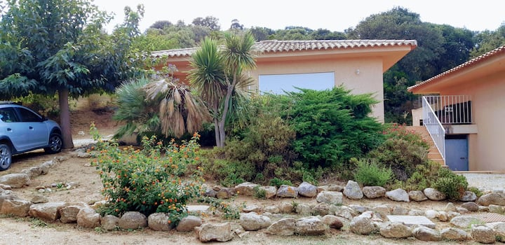 Villa 70m2 a 200 mètres de la plage de Portigliolo