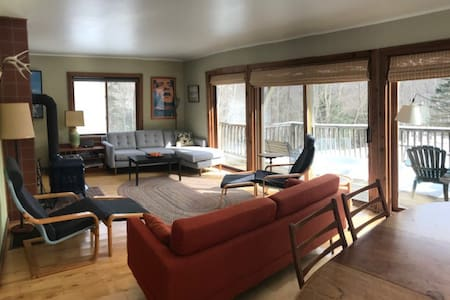 Ski, Hike, Bike Chalet in Central Vermont