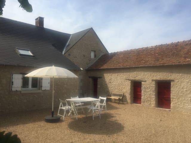 Charmante maison campagne Pays de La Loire 6 pers.