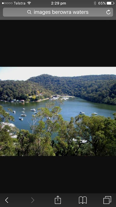 4 minutes to Berowra waters where you can enjoy Kayaking etc