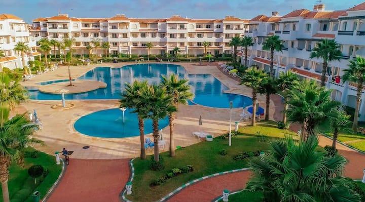 Sidi Rahal , Residence Garden Beach 2 . <3<3<3<3<3
