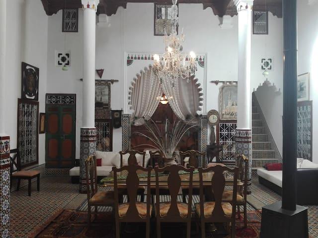 Riad Dar Khatib (habitación privada)