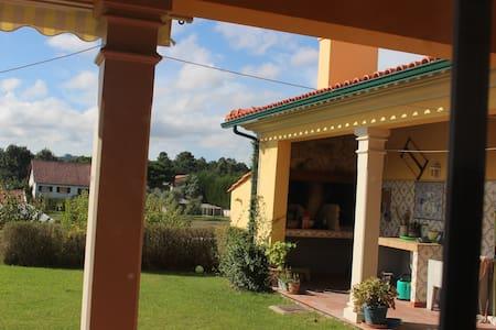 Individual house for 6 persons near Leiria/Fatima - Leiria - Rumah