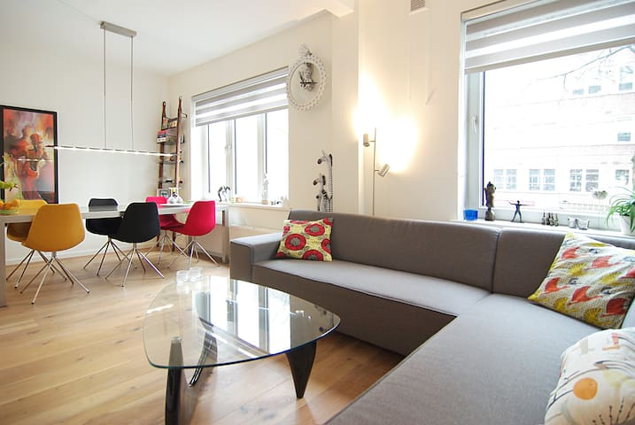 Enjoy this great Amsterdam apt.! - Amsterdam - Daire