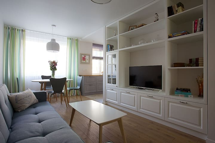Modern and stylish apartment in Druskininkai - Друскининкай - Квартира
