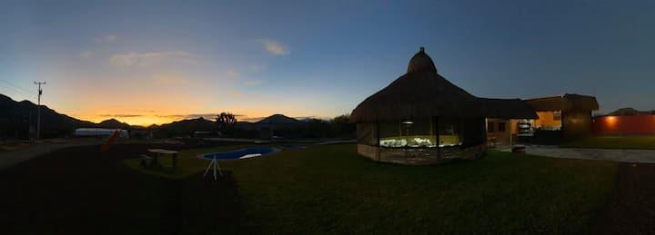 Cabaña en Rancho El Ejido