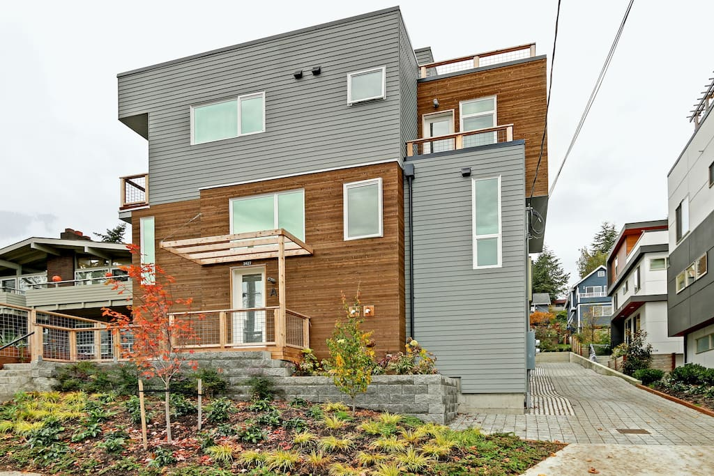 This townhome is brand new construction.