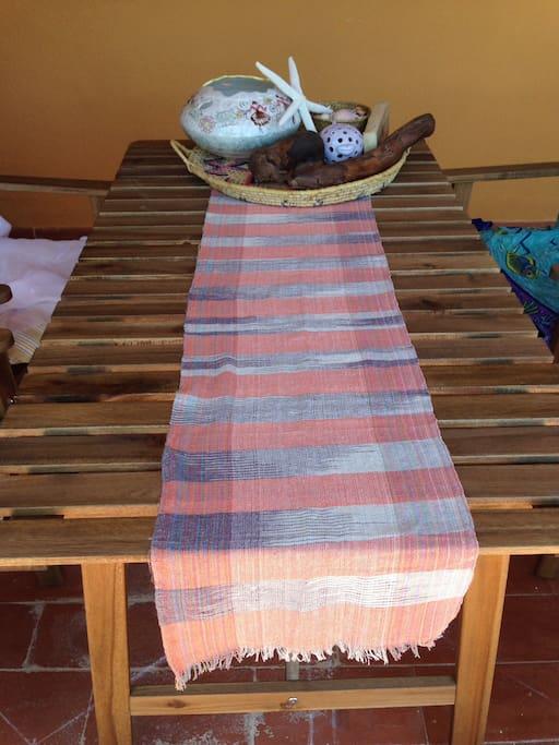 Tavolo pranzo patio / Your outdoor table