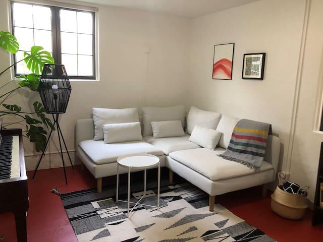 Bright Garden View Suite