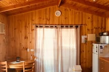 Main room of cabin