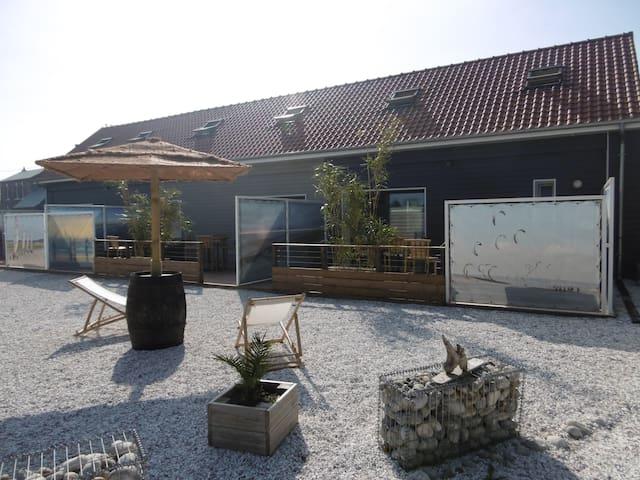"""gîte Baie de Somme """"la mollière"""" Picardie"""