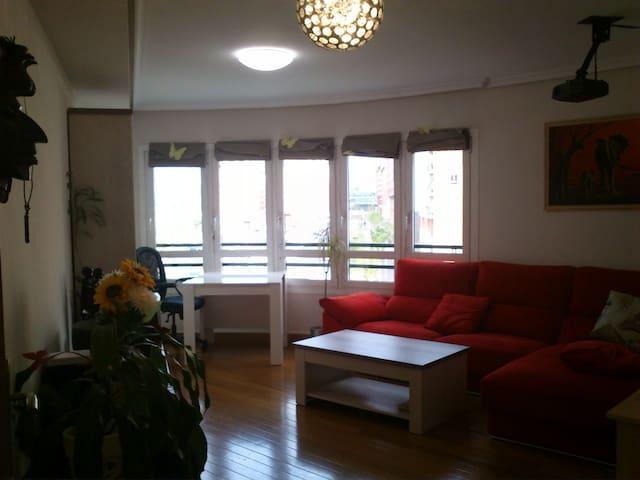 Piso con vistas, wifi y garage - Bilbao - House