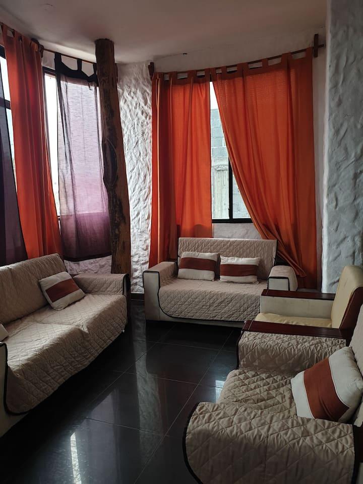 Departamento casa cómoda ,acogedora e ideal