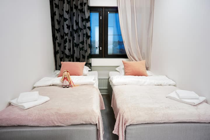Семейный номер. №6. · Hotel-hostel INNTOURIST in the CENTER of Helsinki