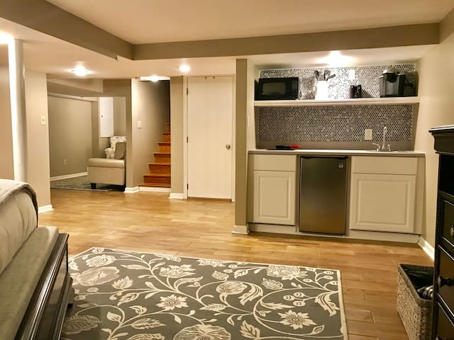 Remodeled suite in one of Louisville's BEST areas
