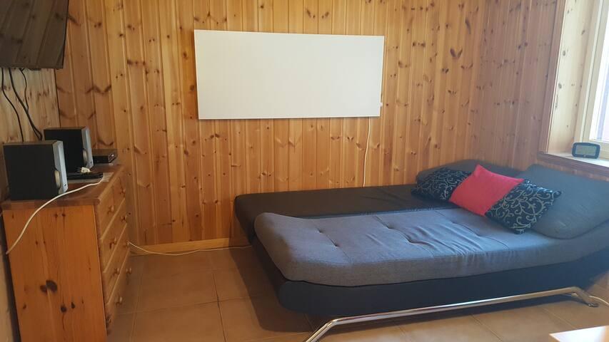 Sofa als Schlafcouch nutzbar für 2 Personen