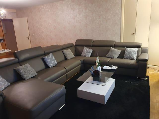 Appartement très spacieux de 113 metre carré