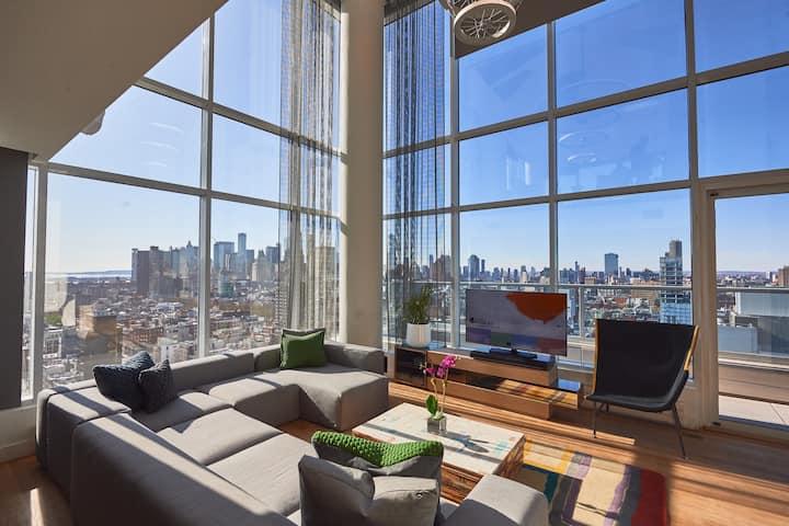 Hotel Indigo LES 2BDR Duplex Penthouse Suite
