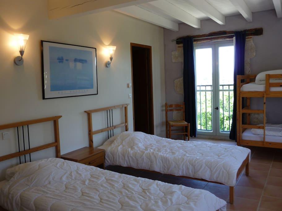 Chambre de 5 lits