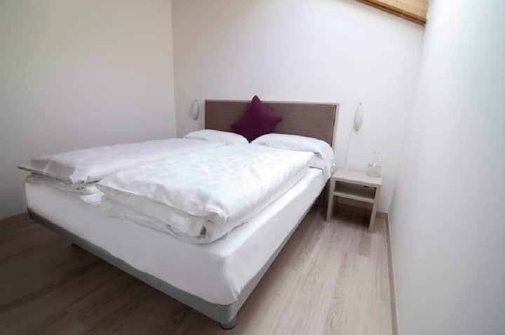 Appartamento con 2 camere da letto per 5 persone