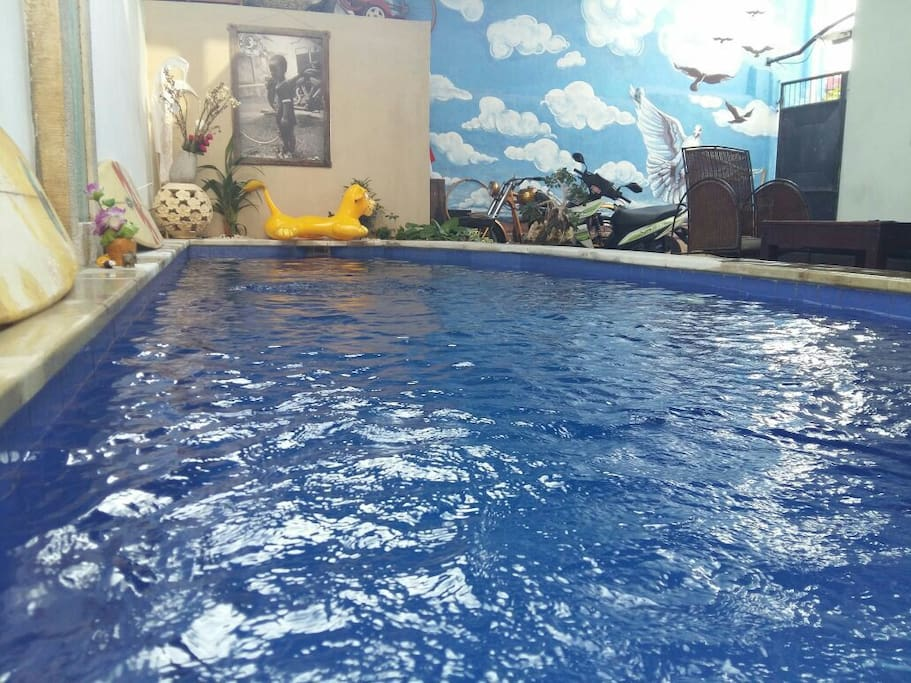 Pool in front of your room