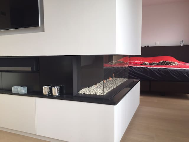Luxueus appartement met zeezicht - Brugge - Apartemen