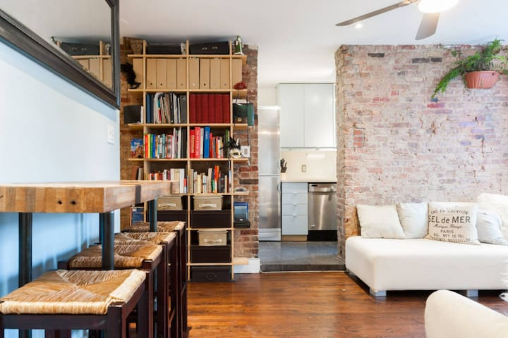Amazing lrg 1 br avail in a 2 br - Nova York - Apartamento