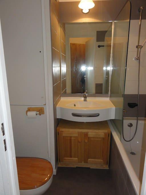 salle de bains et wc