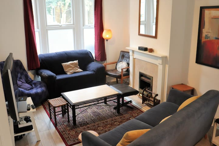 Affordable small double in rare London oasis