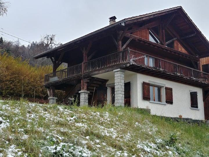 Logement face au Mont-Blanc
