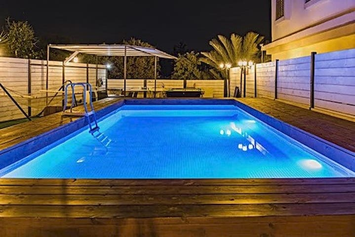 Villa Sea Of Galile Pool+Hot Tub+Parking