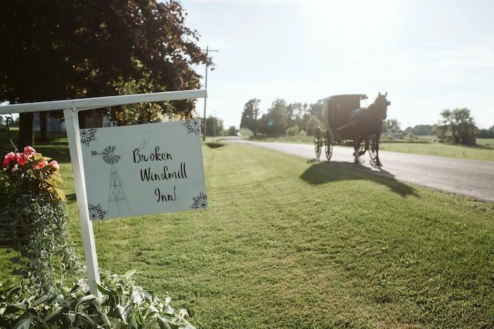 Broken Windmill Inn Ontario Farm Retreat