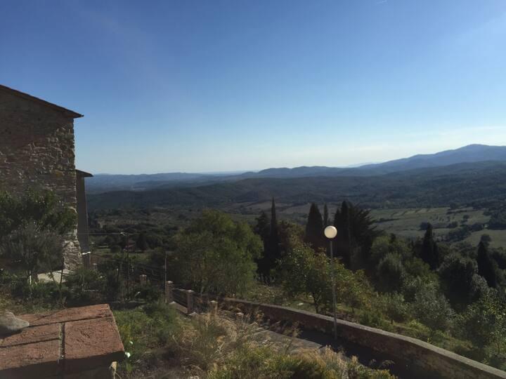 Casa Benedetta, san Francesco i Toscana