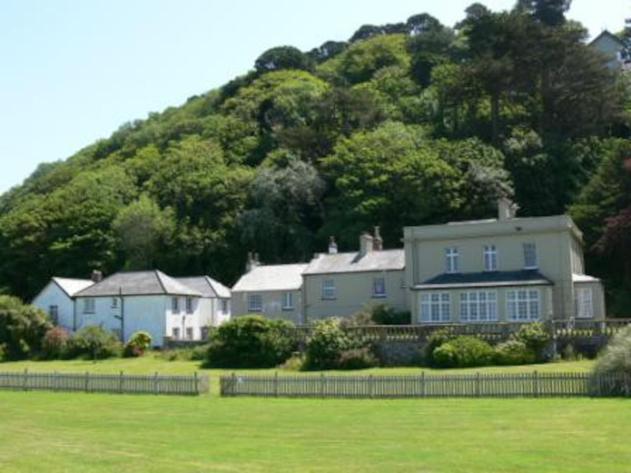 The Manor House Lynmouth - Possibility Cottage & Realms House on left